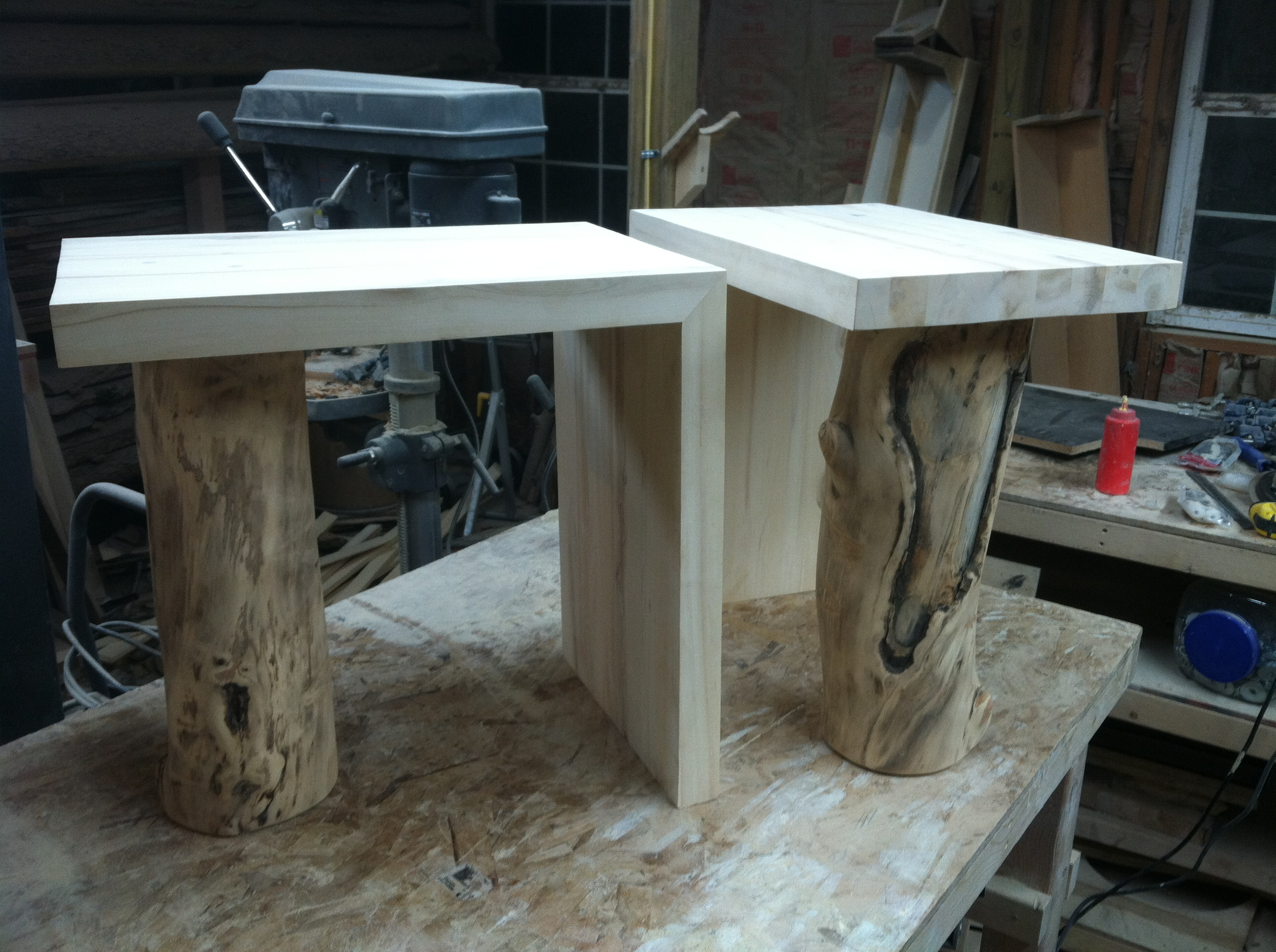 How-To build a Waterfall Side Table