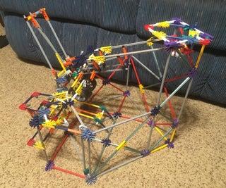 Indecisive Drawbridge: a K'nex Ball Machine Element