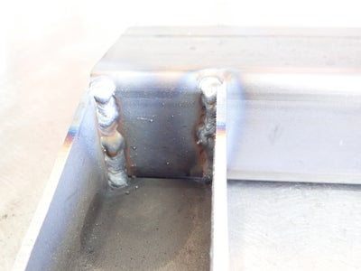Weld Upper Support Section