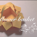 DIY Paper Flower Basket