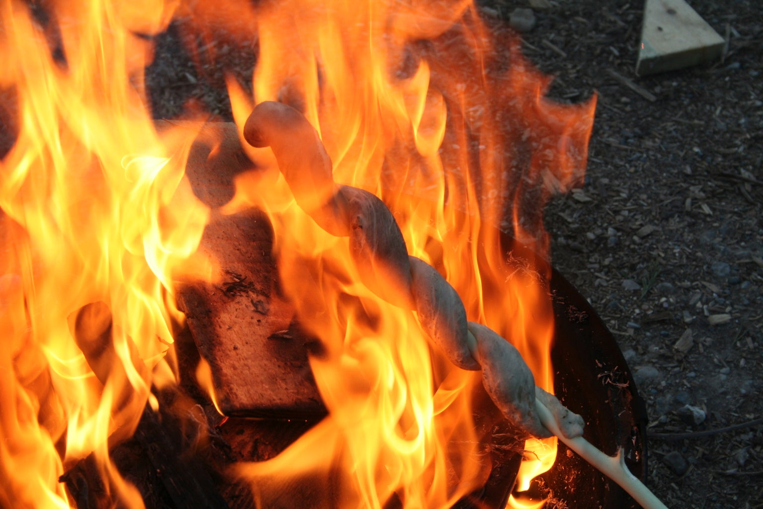 Cooking on Embers