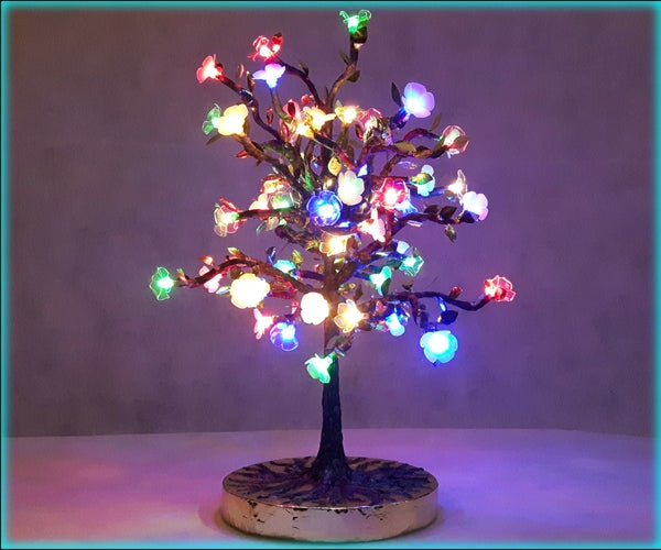 Build Your Own Fairy Light Tree