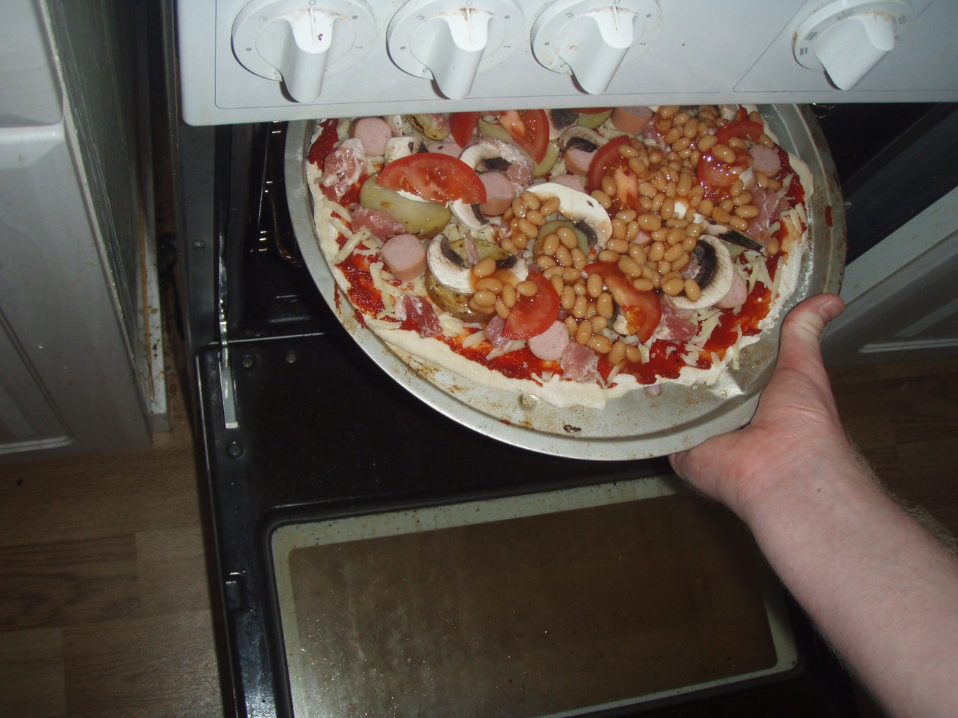 Cook the Pizza