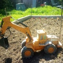 FPV Internet Controlled Toy Excavator
