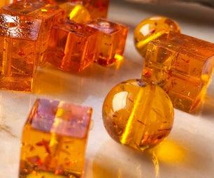 Amazing Faux Amber Beads
