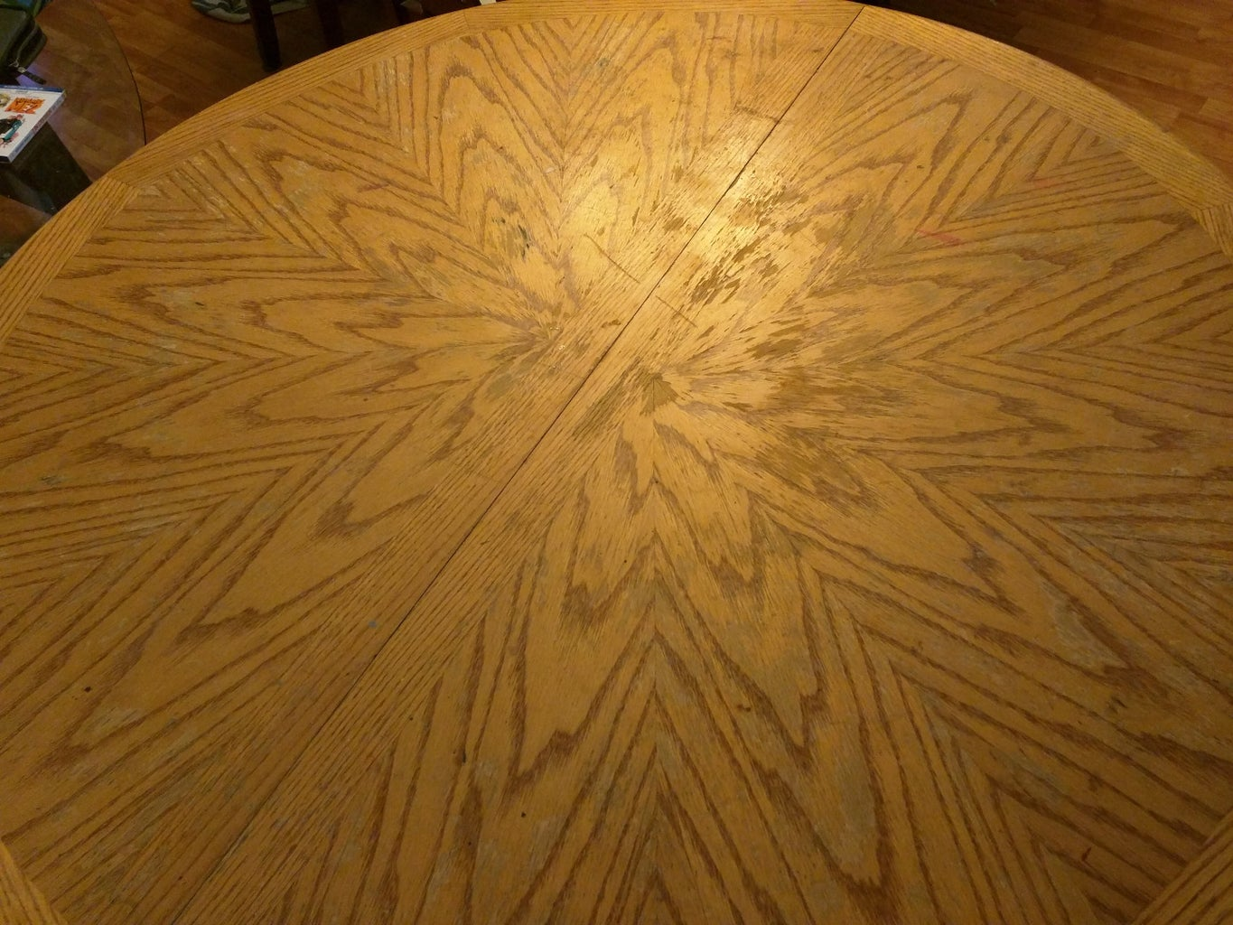How I Destroyed Our Dinning Table.