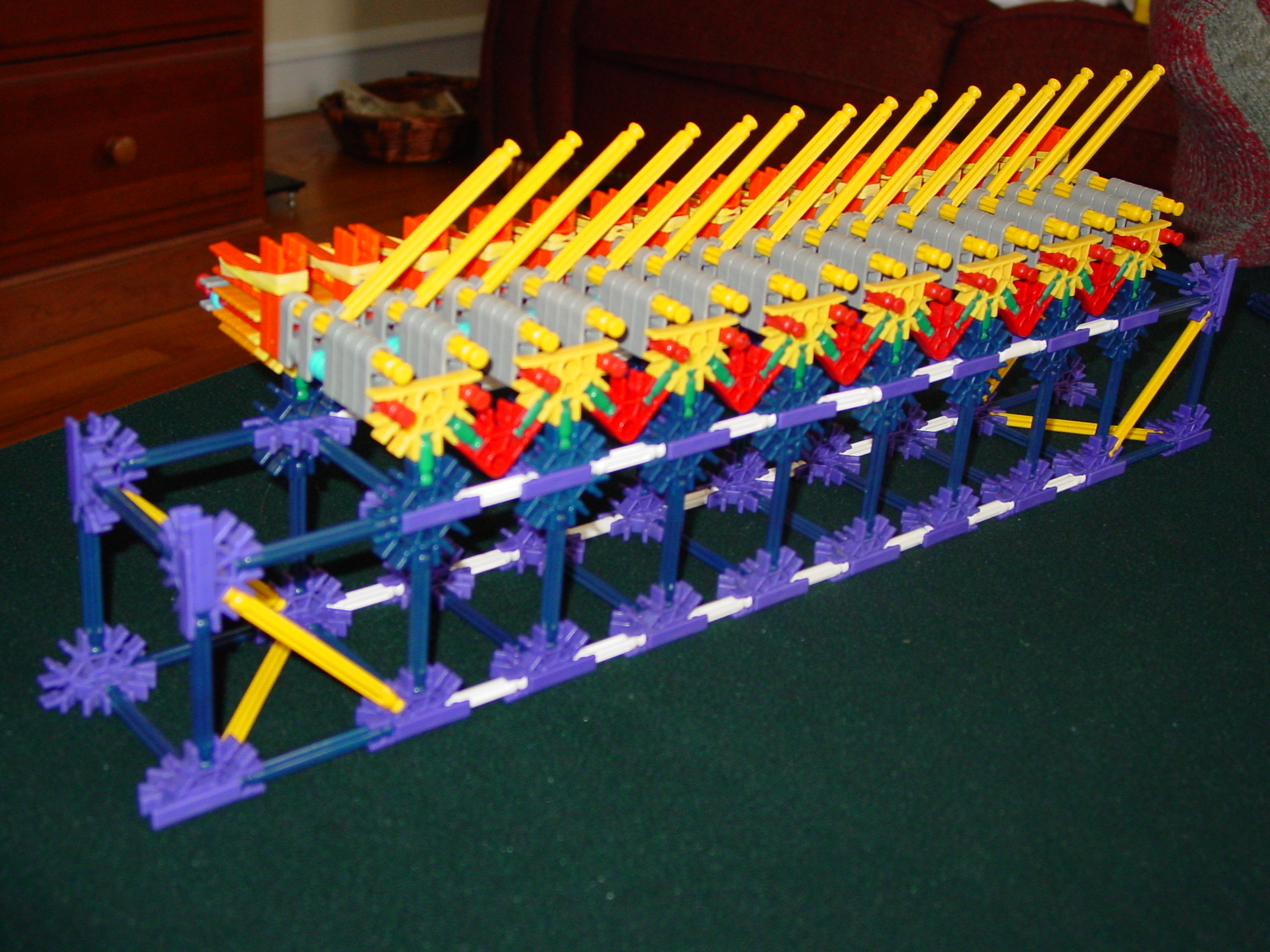 K'nex Rapid Fire Slide Gun
