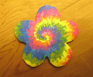 How to Paint a Rainbow Tie-dye Design