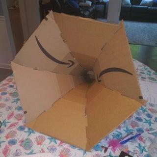 纸板喇叭放大器