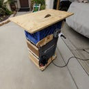 Plastic Crate Table Saw