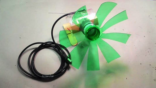 How to Make a USB Fan From Plastic Bottle