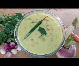 Avial - Veg Stew - How to Make Veg Stew