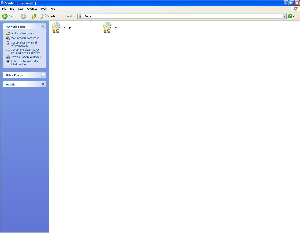How to setup Samba (file server)