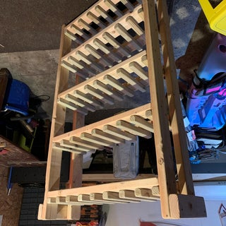 High Capacity Wine Rack