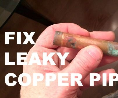 How to Fix a Copper Pipe...WITHOUT Soldering