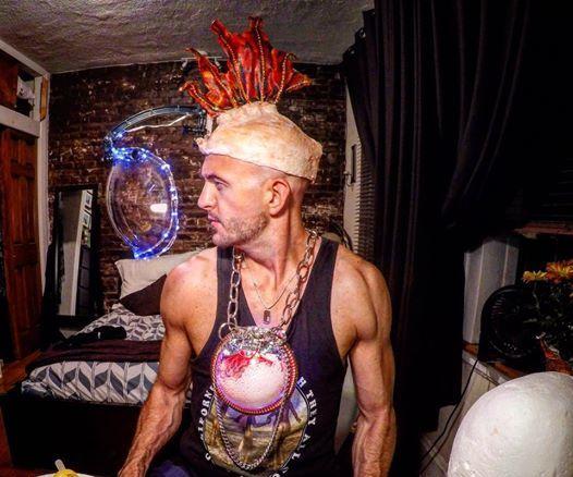 Fishman Alien Cyborg Costume