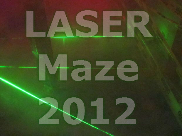 LASER Maze 2012 - Halloween Haunted House