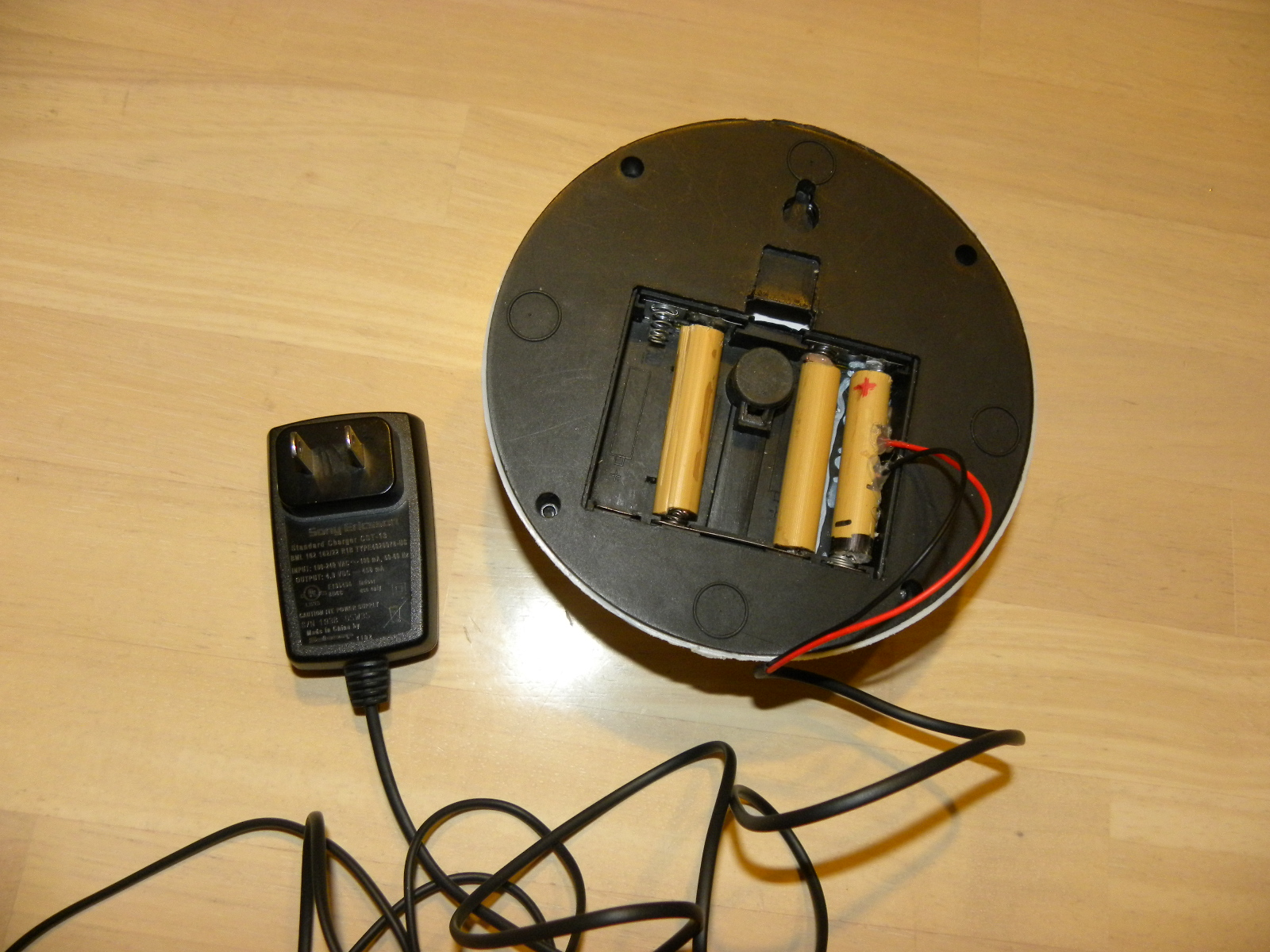 Using an DC Adapter for Battery Powered Device