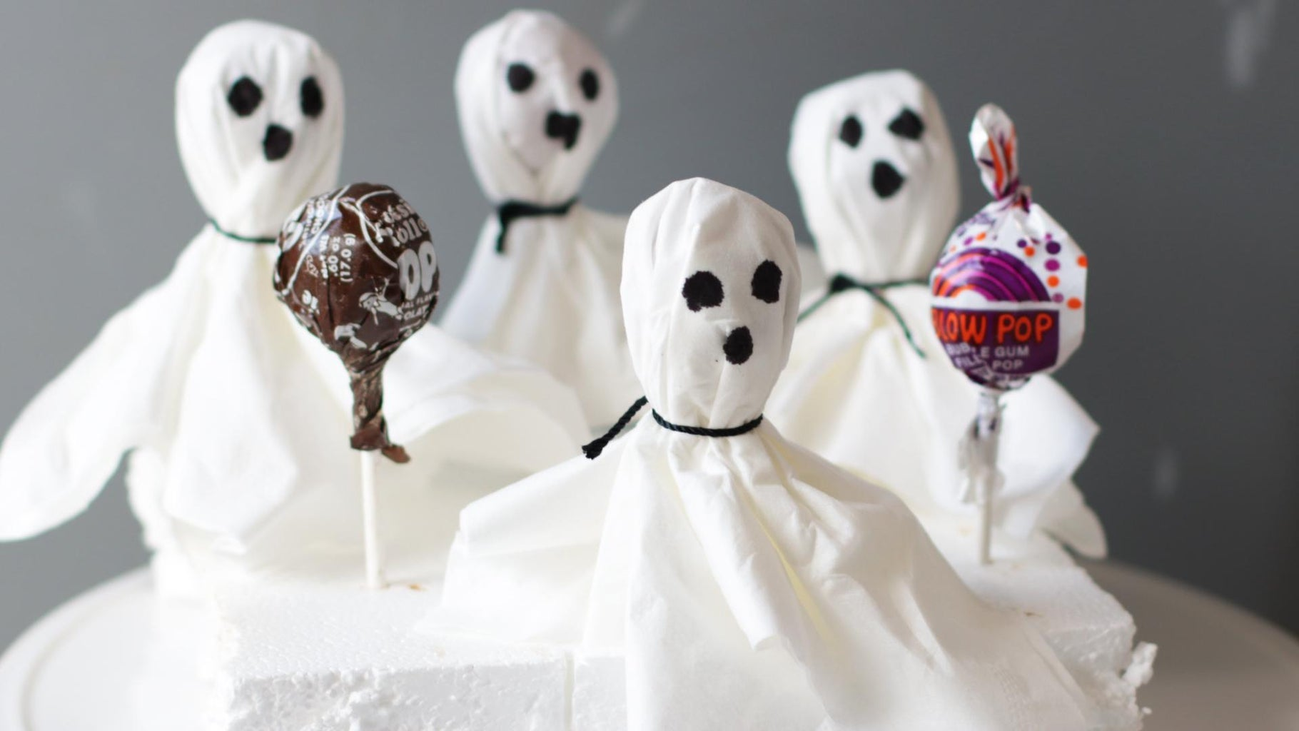 Halloween Ghost Pops