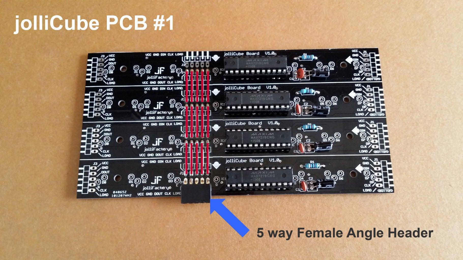 Design of JolliCube - Electronic Control Circuit