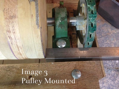 Mounting the Sanding Head