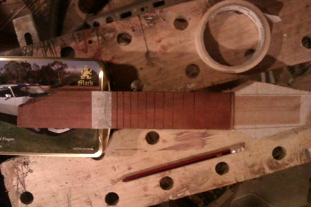 Cross Check Every Thing Aligns and Attach Fretboard