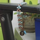 Easy 2-needle right-angle weave bracelet (sizes may vary!)