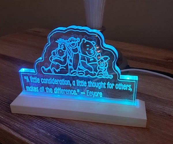 Pooh Bear & Friends Night Light