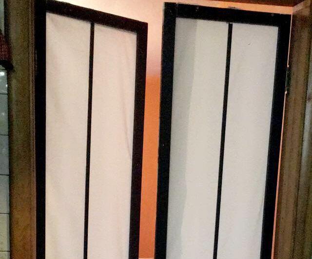 Fabric Shoji Door