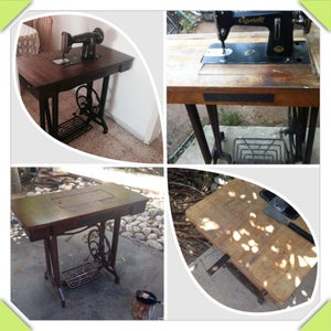 Sewing Table Renovation