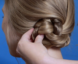 How to Create Two Modern Hair Buns