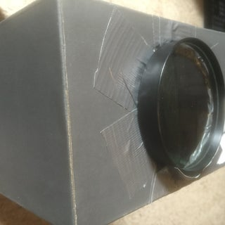How to Make a Projector for Your IPod/iPhone for About a $1