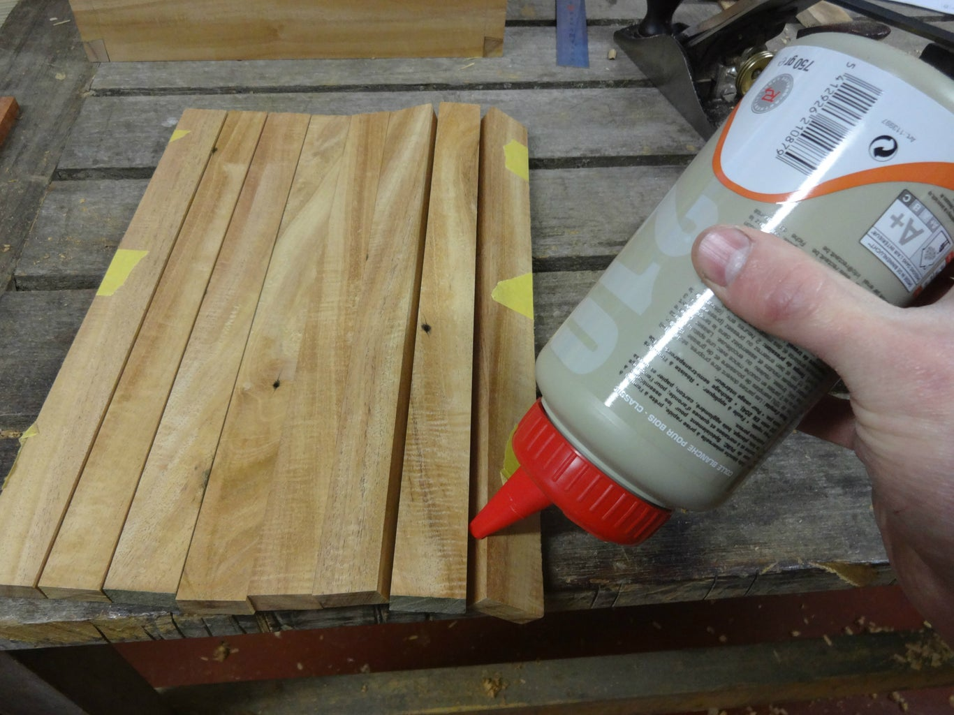 Making the Curved Part of the Lid
