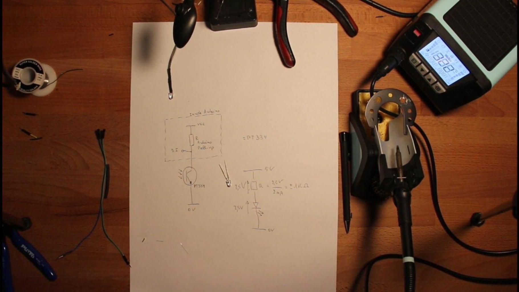 Assembly of PT 334 Sensor.