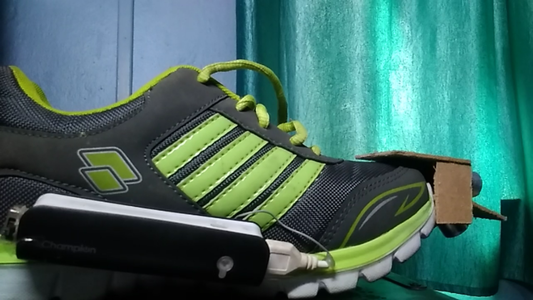 Haptic Shoe for the Visually Impaired