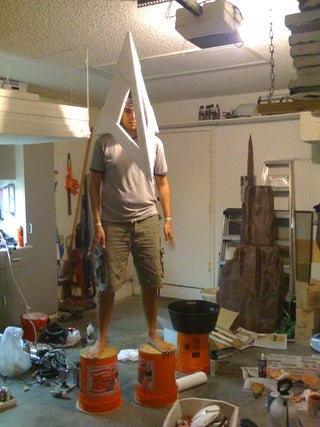 Pyramid Head Costume With Pictures Instructables