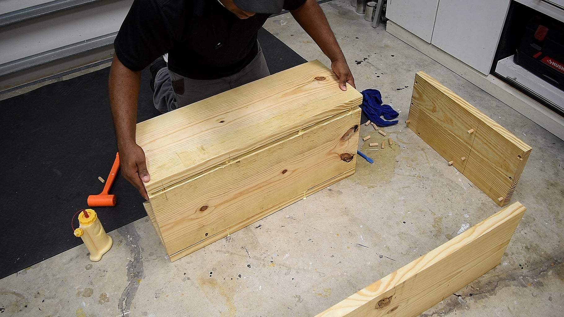 Building the Arm With Storage
