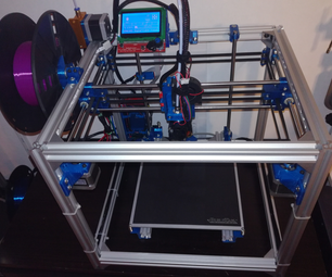 Hypercube 3D Printer (using RatRig Frame Kit)