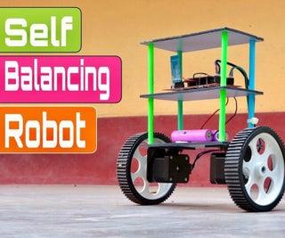 How to Make DIY Smartphones Controlled Self Balancing Robot