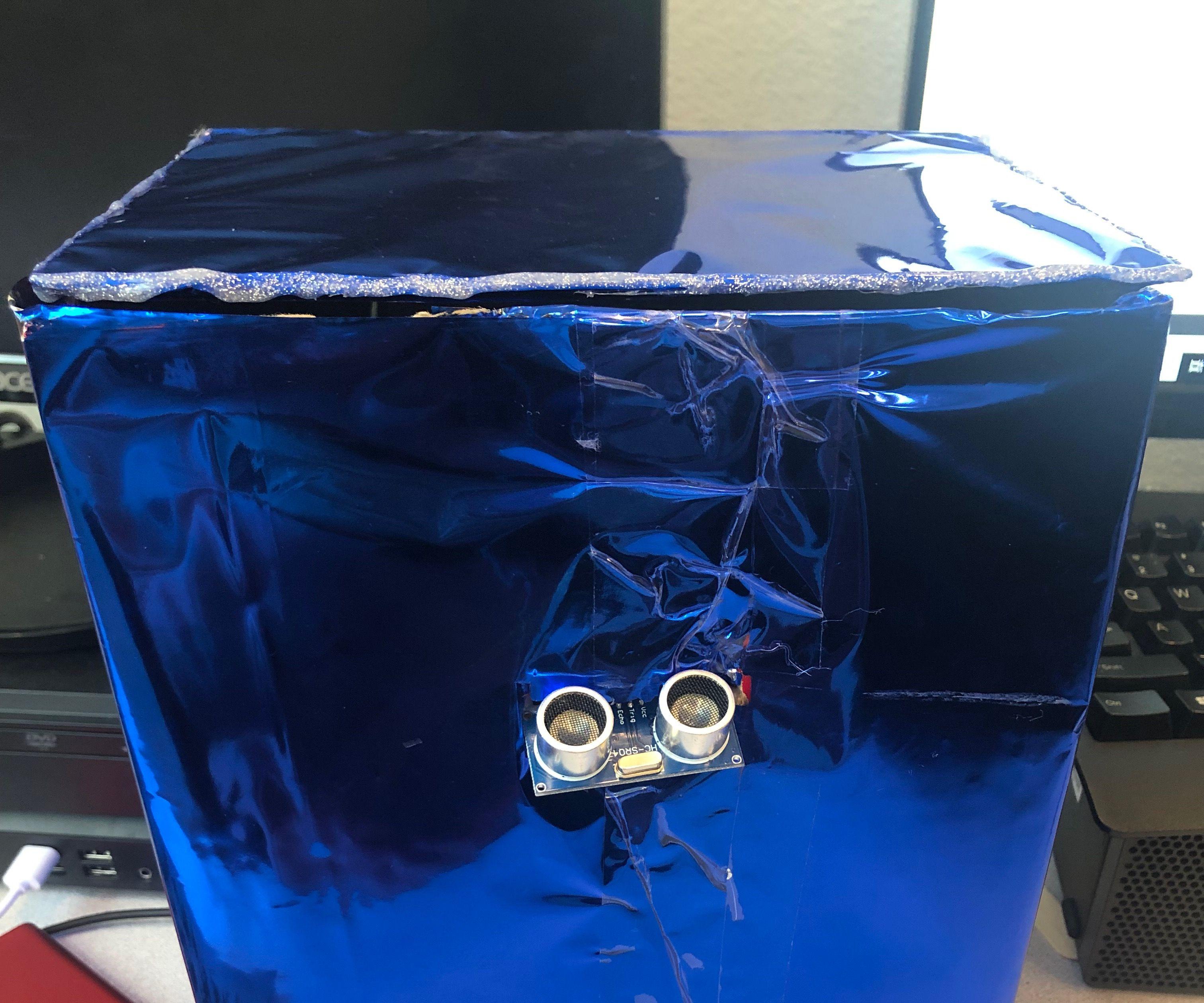Robot Trash (Adruino)