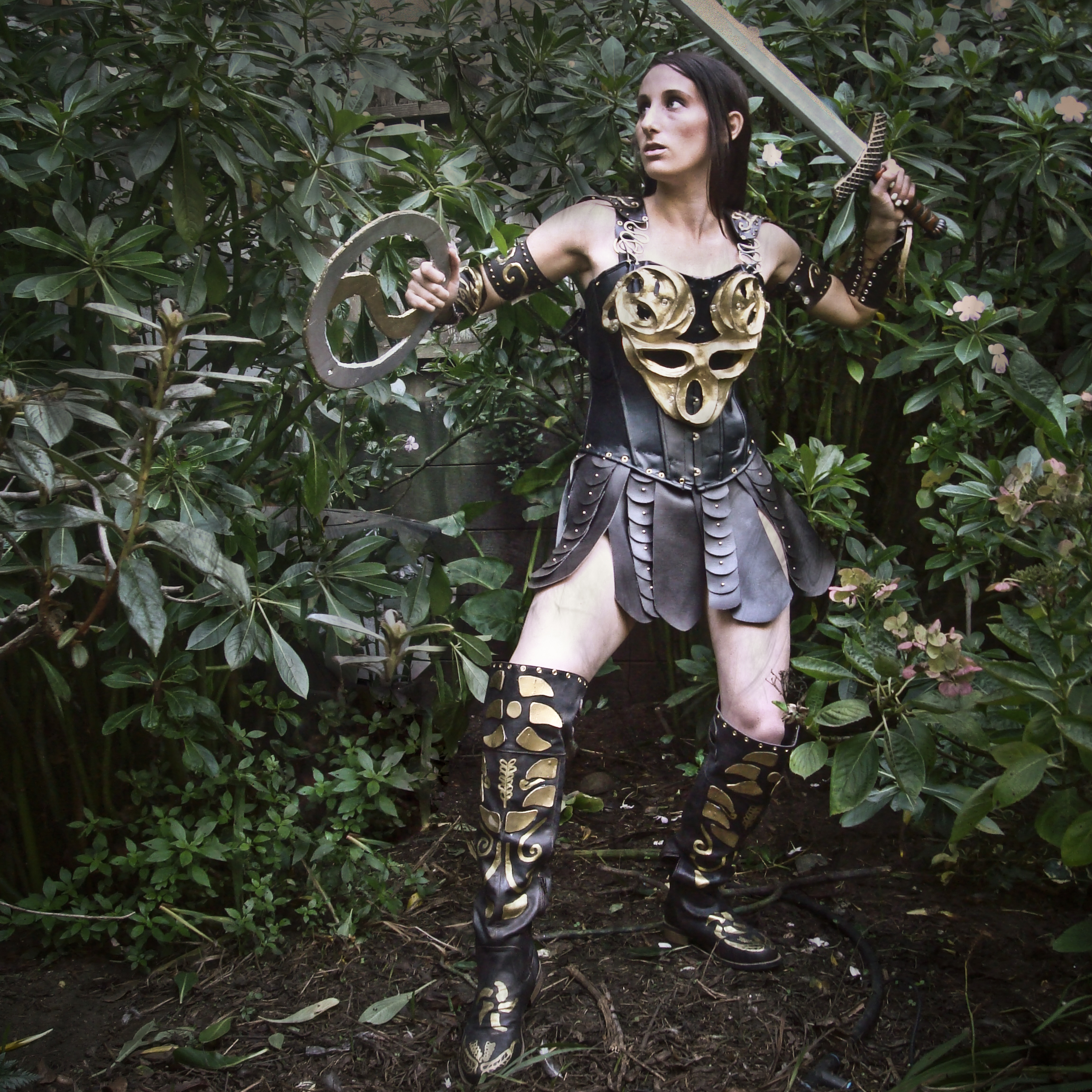 DIY Xena Warrior Princess Costume