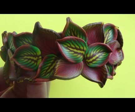 Bracelet and earrings Inspiration part 1. Polymer clay tutorial