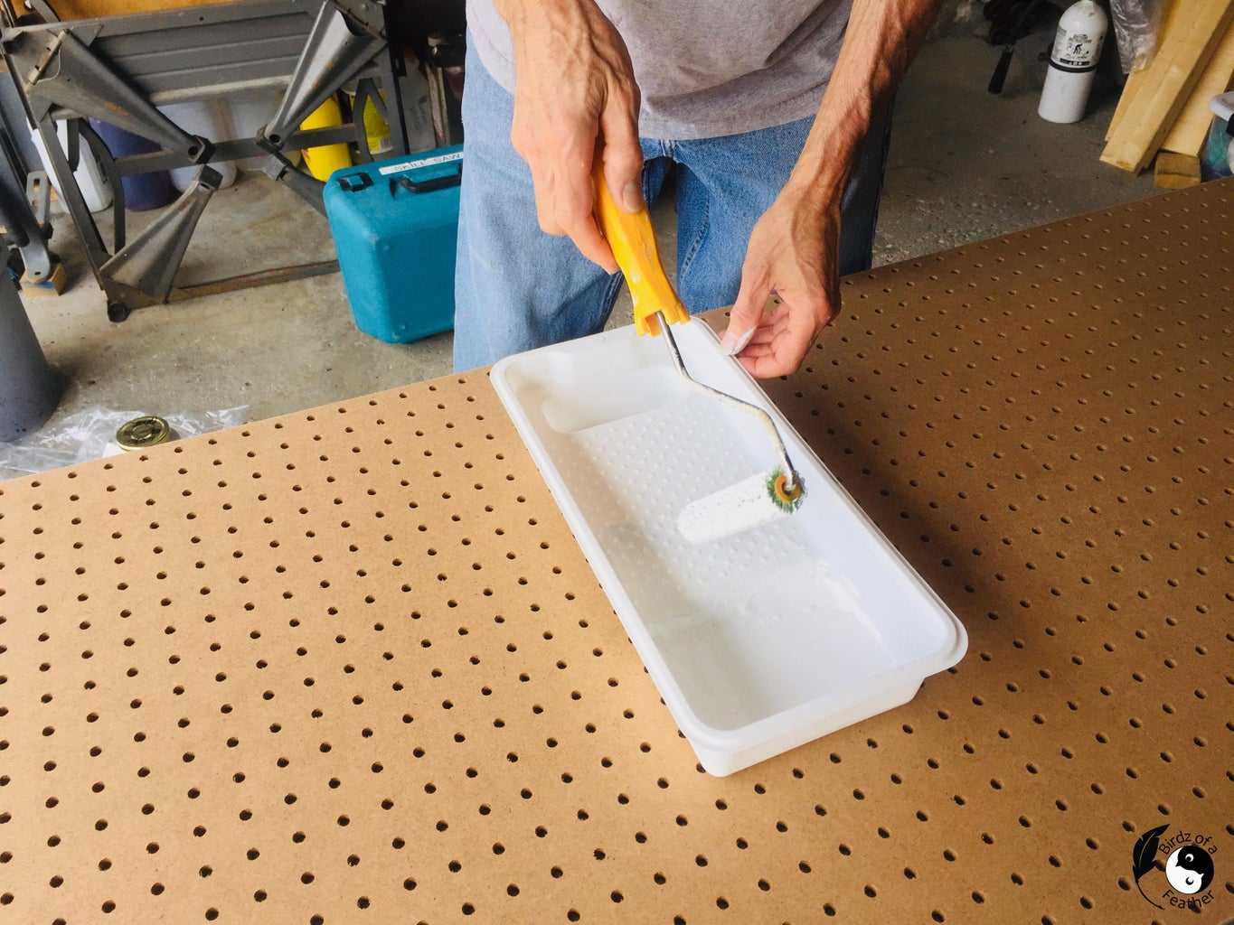 Paint and Prime Pegboard