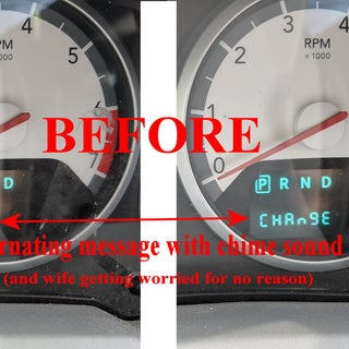 How to Reset Oil Life: Dodge Grand Caravan 2008-2016