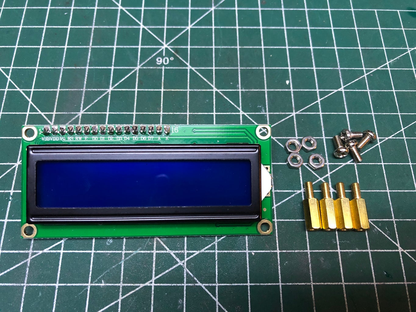 Mounting the LCD Screen