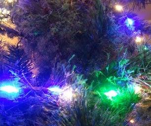 Sound Reactive Holiday Christmas LED Lights