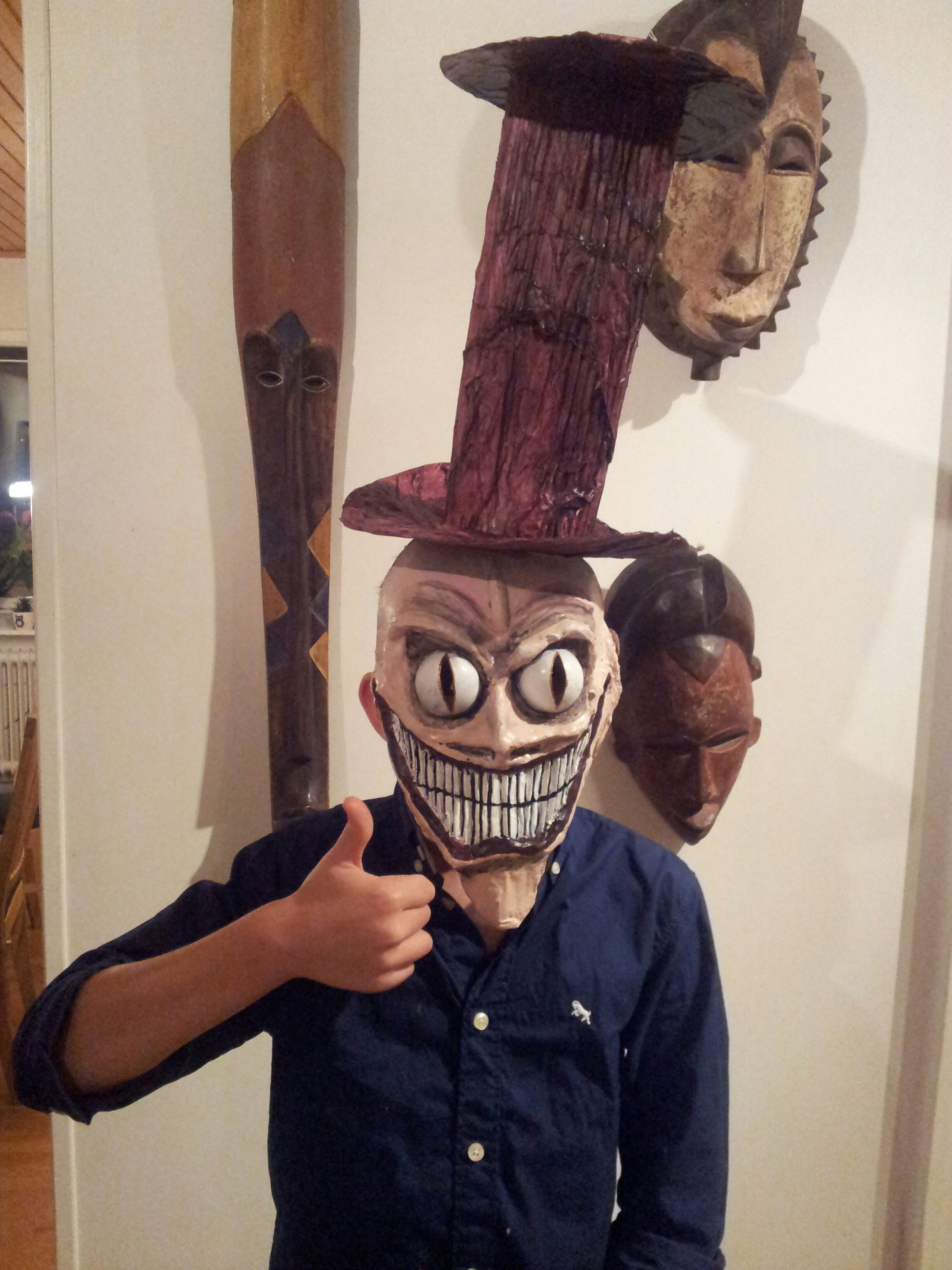 The Mask That Scares (Homage To The Scoochmaroo Scary Hat)