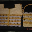Crochet Purse and Matching Blouse