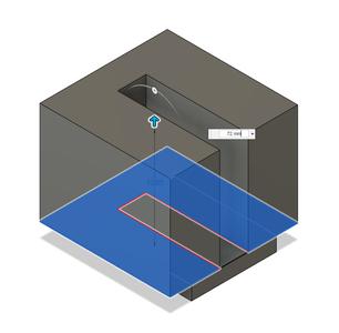 Design Process - Moving Fixture - Upper Extrusion