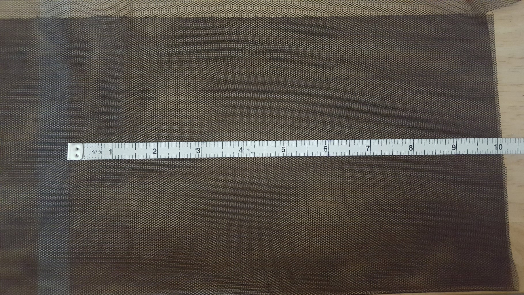 Measure Your Mesh Fabric and Cut It to Size
